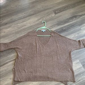 Slouchy cable sweater from vici